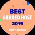 Tildelt selskaper som er på listen over topp 10 på delt hosting
