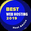 Tildelt selskaper på topp 10 i kategorien for den beste web-hostingen.